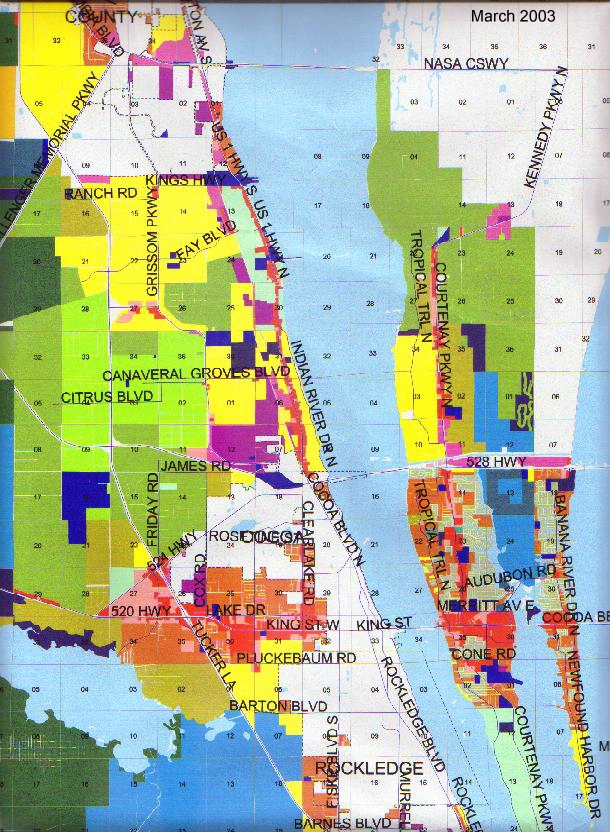 Brevard Vacant Land Development   Future Land Use   Master Plan