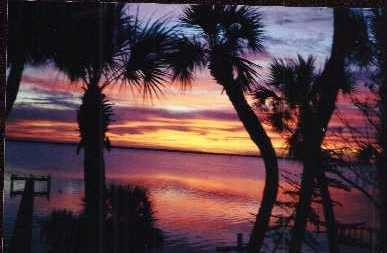 Beautiful Indian River Sunset